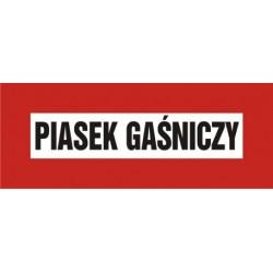 Piasek Gaśniczy