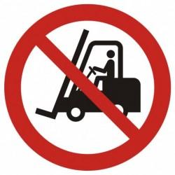 Zakaz ruchu urządzeń do...